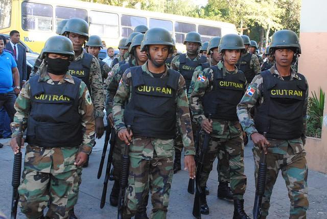 Agentes Fuerza Tarea Ciudad Tranquila (Ciutran)