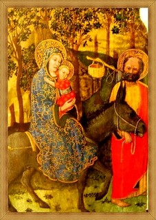 Treasures of Louvre museum: Nativity paintings-7