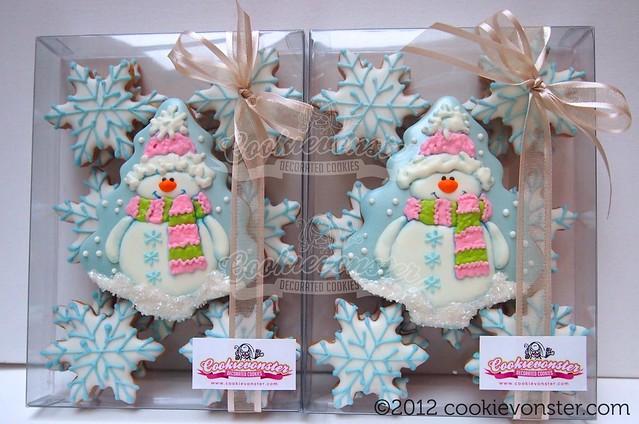 Frosty Gift Set ©Cookievonster2012