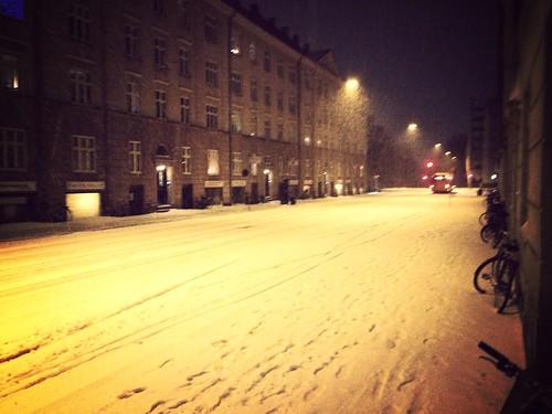 White christmas!!! =D