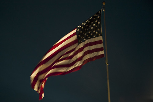 Old Glory at the Twilight's Last Gleaming