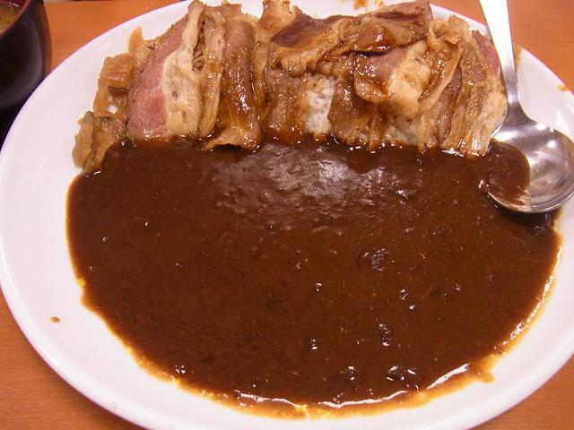 焼き牛カレー