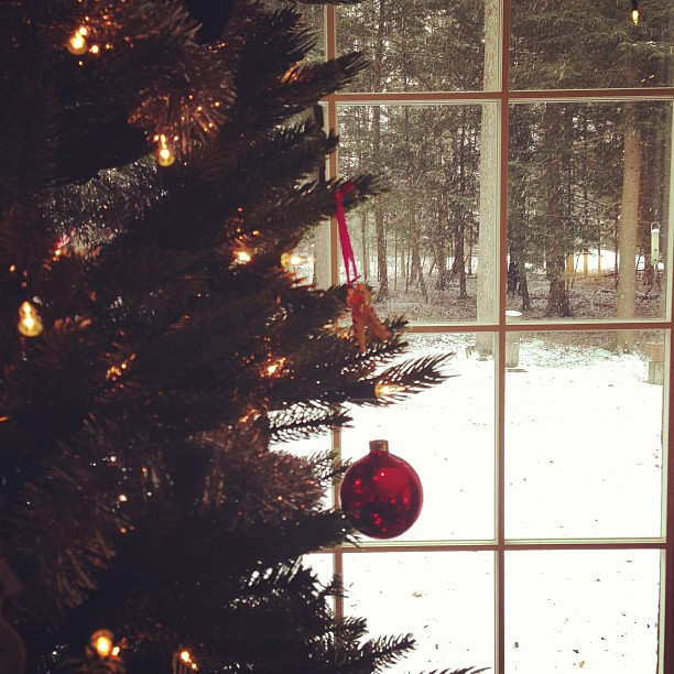 Merry Christmas from Vermont #ilovermont #whitechristmas