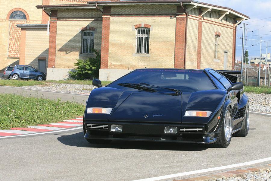 The Amazo Effect Lamborghini Countach Turbo S , Follia Turbo!
