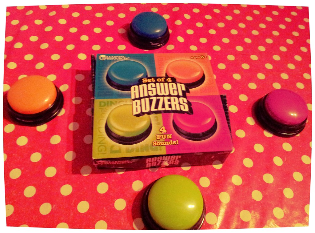 , Learning Resources Answer Buzzers