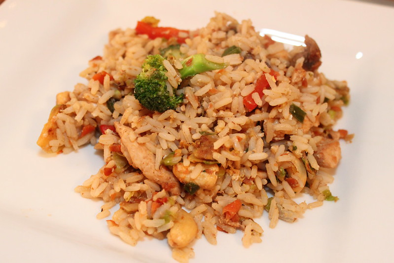 Christmas Leftover Fried Rice
