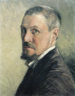 Caillebotte - Self Portrait [1888-89]