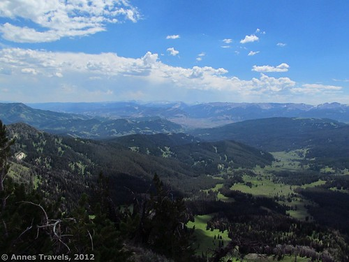 The Gros Ventre Range from Mount Leidy, Bridger-Teton National Forest, Wyoming