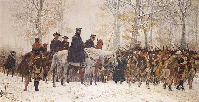 george washington valley forge