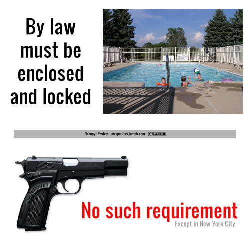 guns and pools