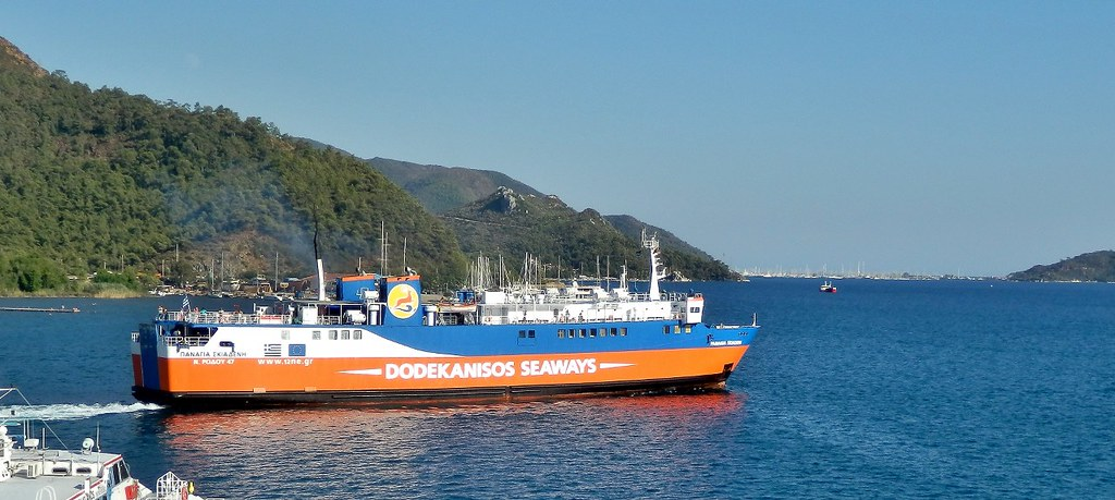 Turkey - Marmaris, Dodecanese Seaways ferry
