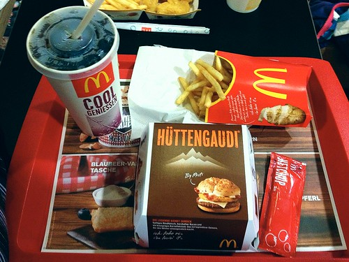 McDonalds Big Rösti Menu