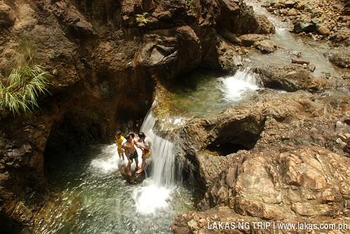 Cascade of Dagubdob Waterfalls