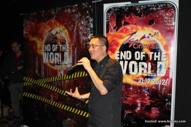 TGV End of the World Movie Marathon Image 1