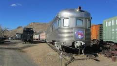 Atchison Topeka & Santa Fe Observation Car Navajo