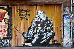 Grafitti Spuistraat Amsterdam