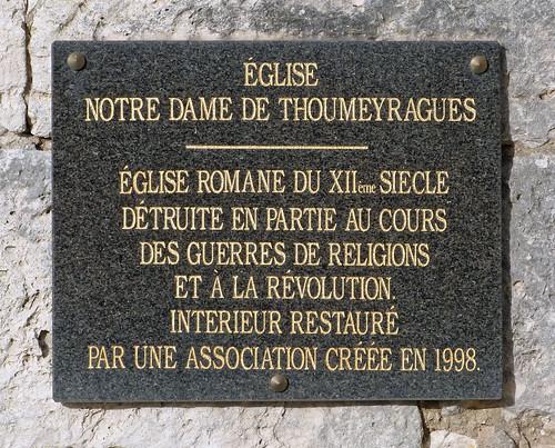 Les Leves et Thoumeyragues - Eglise Notre Dame de Thoumeyragues  04