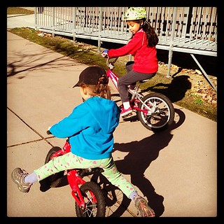 Balance bike instruction