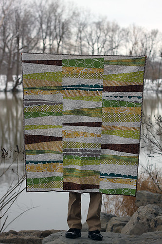 Stack and Whack baby quilt