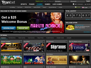 Titan Bet Casino Home