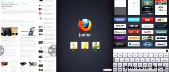 Mozilla Junior для iPad