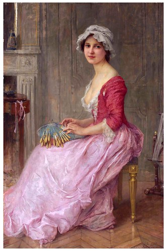 026- La costurera-Charles-Amable Lenoir - via Wikimedia Commons