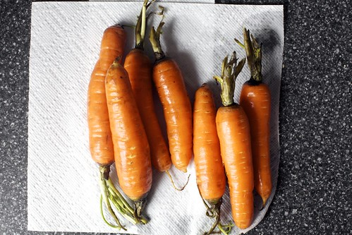 it's january, so there are carrots