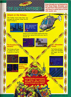 "NINTENDO POWER ::  MAY/JUNE 1989 // Vx p.17 "" TEENAGE MUTANT NINJA TURTLES "" { original review }"