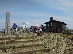 丹沢塔の岳山頂