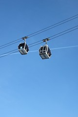 cable car, lighting,