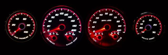 Custom gauges only from NVU - Team Camaro Tech