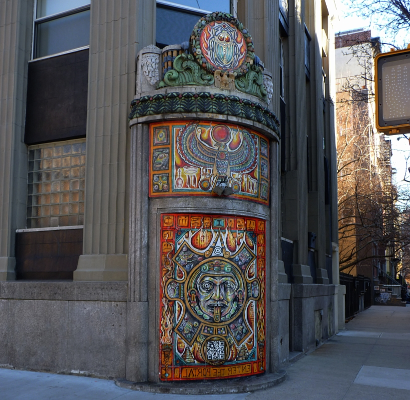 Ancient Temple Appears  on Ave C