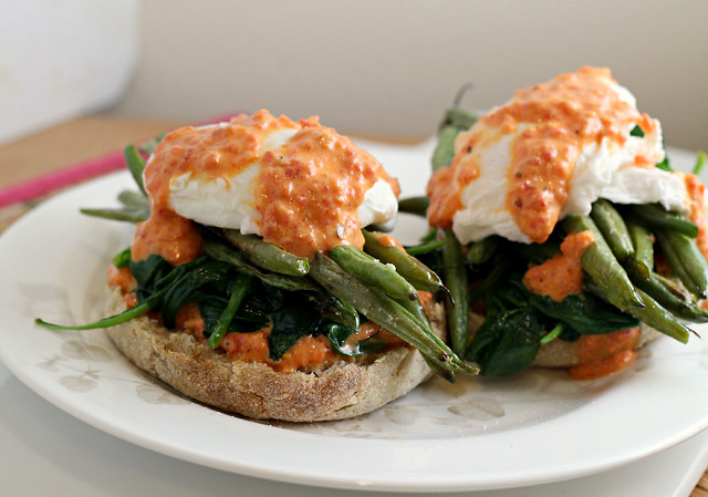 Vegetable Eggs Benedict {eat.live.be} | Joanne Eats Well With Others