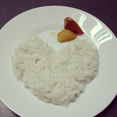 curry(0.0), coconut(0.0), produce(0.0), steamed rice(1.0), food grain(1.0), rice(1.0), food(1.0), white rice(1.0), dish(1.0), cuisine(1.0), glutinous rice(1.0),