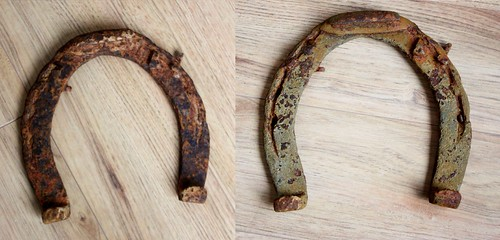 how-to-clean-an-old-horseshoe