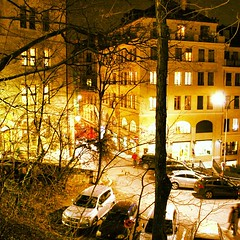 A nice view on Rue Frank-Martin
