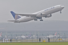 United Airlines Boeing 767-300; N647UA@ZRH;14.01.2013/687bo