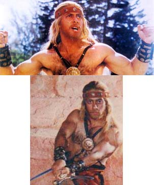 Salman Khan of 1992, in the movie Suryavanshi