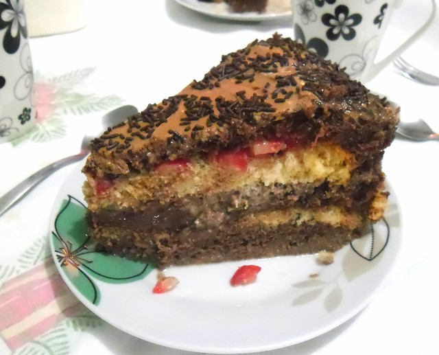 bolo de aniversário - Foto de Dayane