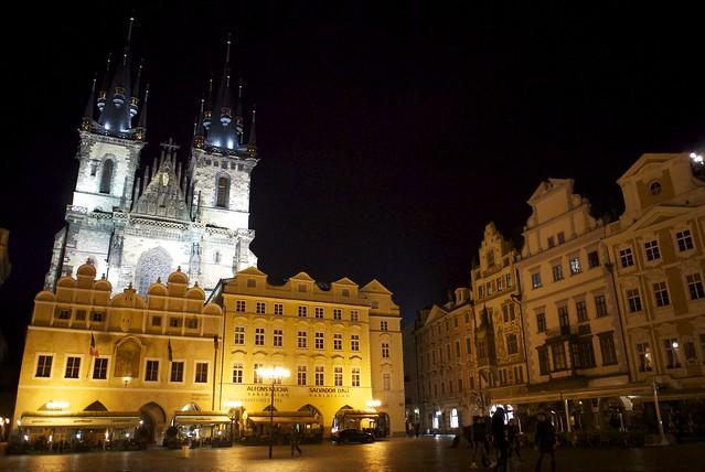 プラハ旧市街の中央広場