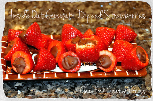 Insideoutchocolatedippedstrawberries