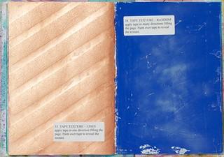 Tekstuuria maalarinteipillä