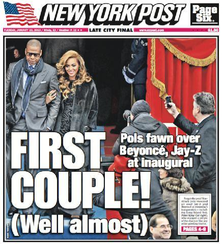 Rep. King at Inauguration with Beyoncé, Jay-Z