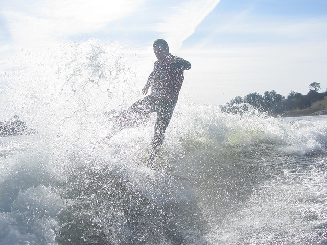 Mid January Wakesurfing 249