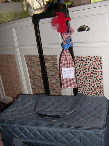 Luggage Tag in action