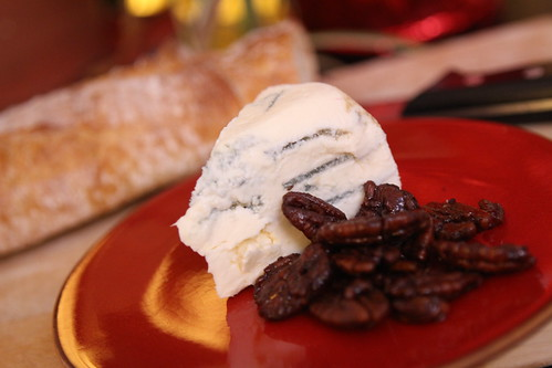 Blue Castello with Candied Pecans