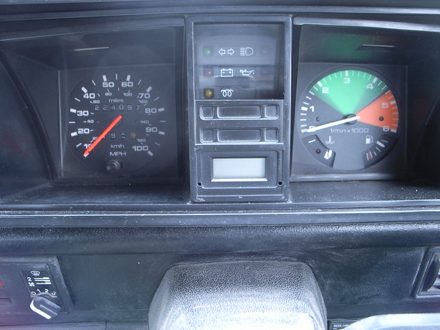 T3 T25 Vanagon Plasma Gauge upgrade - daylight