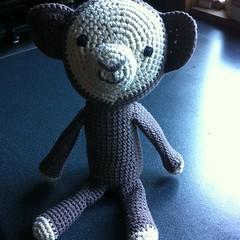 Arigurumi monkey