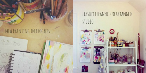 painting/studio january