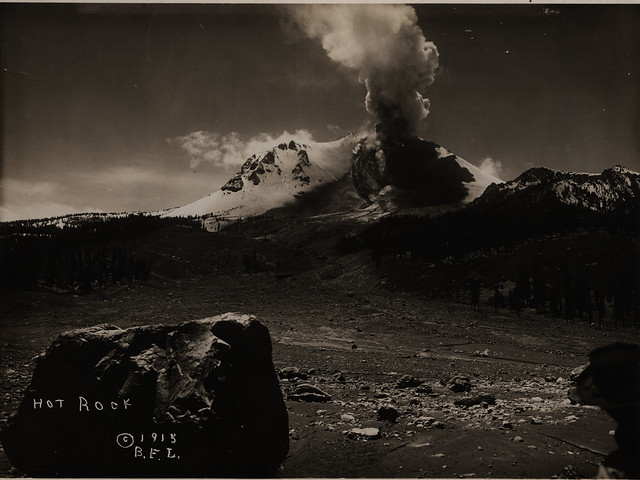 Hot Rock and Lassen Peak eruption
